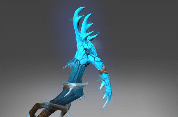 Inscribed Scythe of Ice