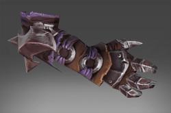 Inscribed Scorched Fletcher Gloves