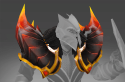 Pauldrons of the Fire Dragon