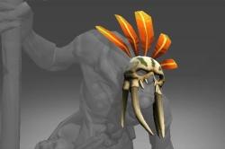 Frozen Tribal Megadon Mask