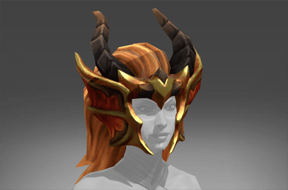 Inscribed Helm of the Enthaleen Dragon