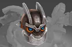 Genuine Head of the Iron Clock Knight