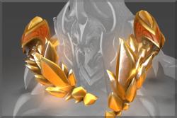 Genuine Golden Latticean Shards