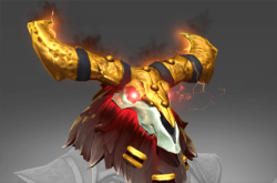 Inscribed Golden Infernal Chieftain