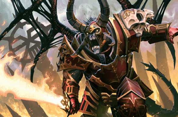 Genuine Eternal Daemon Prince of Khorne