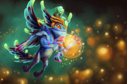 Loading Screen of the Ethereal Monarch