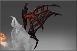 Inscribed Wings of the Daemon Prince