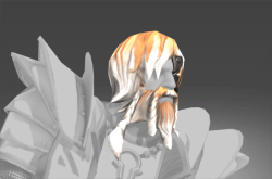 Inscribed Mane of the Undying Light