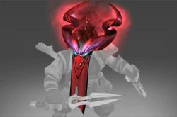 Inscribed Crimson Edict of Shadows