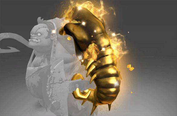 Corrupted Golden Scavenging Guttleslug