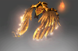 Autographed Golden Wyrmwrought Flare