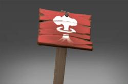 Powdersled Rookerya Sign