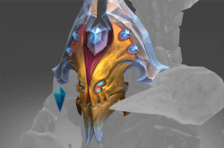 Inscribed Crown of the Frostbite Dunes