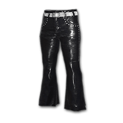 Leather Bootcut Pants