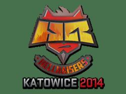 Sticker | HellRaisers (Holo) | Katowice 2014