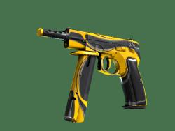 StatTrak™ CZ75-Auto | Yellow Jacket (Minimal Wear)