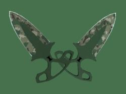 ★ StatTrak™ Shadow Daggers | Forest DDPAT (Minimal Wear)