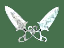 ★ StatTrak™ Shadow Daggers | Stained (Minimal Wear)