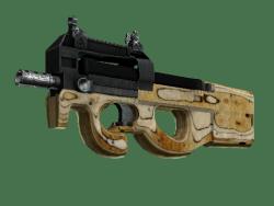 P90   Shapewood (Battle-Scarred)