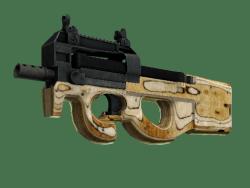 StatTrak™ P90 | Shapewood (Well-Worn)