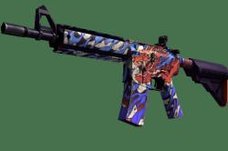 StatTrak™ M4A4 | 龍王 (Dragon King) (Minimal Wear)