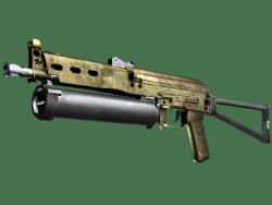 PP-Bizon | Brass (Battle-Scarred)