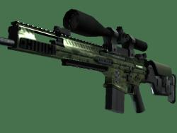 SCAR-20 | Green Marine (Minimal Wear)