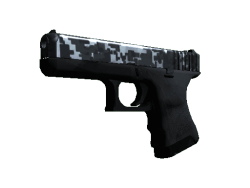 StatTrak™ Glock-18 | Steel Disruption (Factory New)