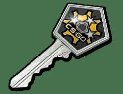 左轮武器箱钥匙