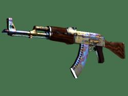 StatTrak™ AK-47 | Case Hardened (Well-Worn)