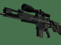 SCAR-20   Sand Mesh (Battle-Scarred)