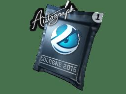 亲笔签名胶囊 | Luminosity Gaming | 2015年科隆锦标赛