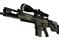 SCAR-20 | Sand Mesh (Field-Tested)