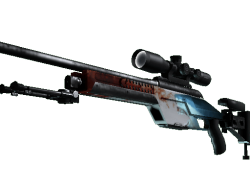 StatTrak™ SSG 08 | Blood in the Water (Factory New)