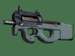 Souvenir P90 | Storm (Well-Worn)