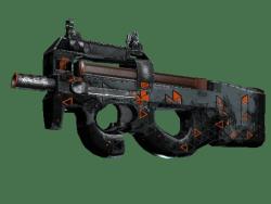 StatTrak™ P90   Trigon (Battle-Scarred)