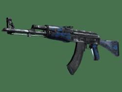 StatTrak™ AK-47 | Blue Laminate (Minimal Wear)