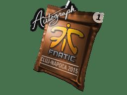亲笔签名胶囊 | Fnatic | 2015年克卢日-纳波卡锦标赛
