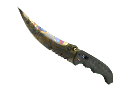 ★ Flip Knife | Case Hardened (Well-Worn)