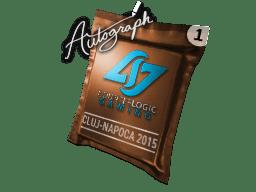 亲笔签名胶囊   Counter Logic Gaming   2015年克卢日-纳波卡锦标赛
