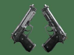 Dual Berettas | Contractor (Battle-Scarred)