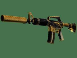 M4A1-S | Golden Coil (Well-Worn)
