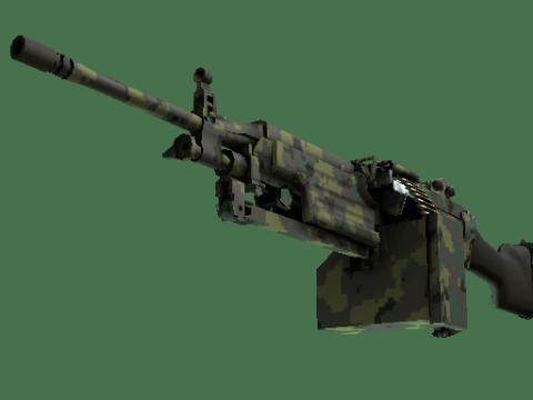 M249   丛林 DDPAT (略有磨损)