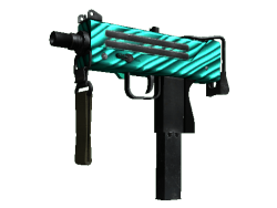 MAC-10 | Malachite (Minimal Wear)