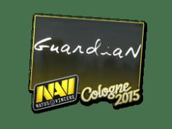 Sticker   GuardiaN   Cologne 2015