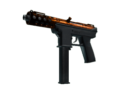 Tec-9 | Red Quartz (Minimal Wear)