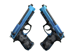 Dual Berettas | Urban Shock (Minimal Wear)