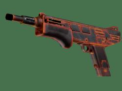 StatTrak™ MAG-7 | Heat (Battle-Scarred)
