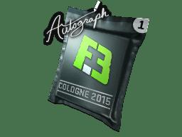 亲笔签名胶囊   Flipsid3 Tactics   2015年科隆锦标赛