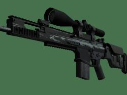 Souvenir SCAR-20 | Storm (Battle-Scarred)